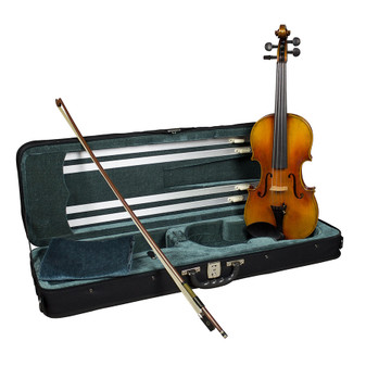Hidersine Reserve Violin Outfit  4/4 all Solid with professional Setup. WV50