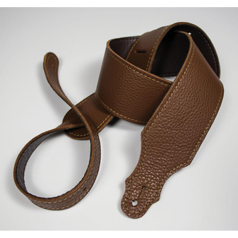 """Franklin 2.5"""" Caramel Purist Leather Strap with Buck Backing"""