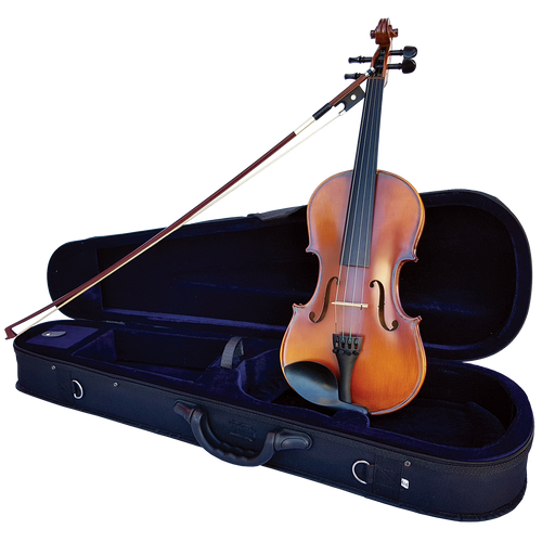 Vivo Encore 3/4 Student Violin Outfit with Professional Setup