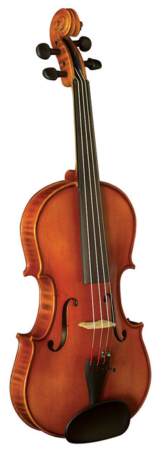 Hidersine Vivente Academy 'Finetune' all Solid Violin 1/2 Student Outfit with professional Setup.