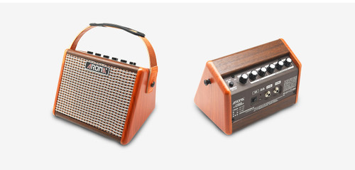 Aroma 15W Rechargable  Acoustic Guitar Amplifier with Bluetooth