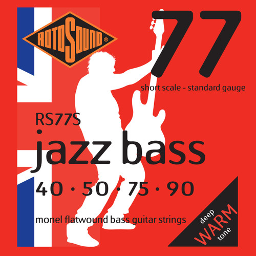 Rotosound RS77S Jazz Bass 77 Short Scale 40-90 Monel