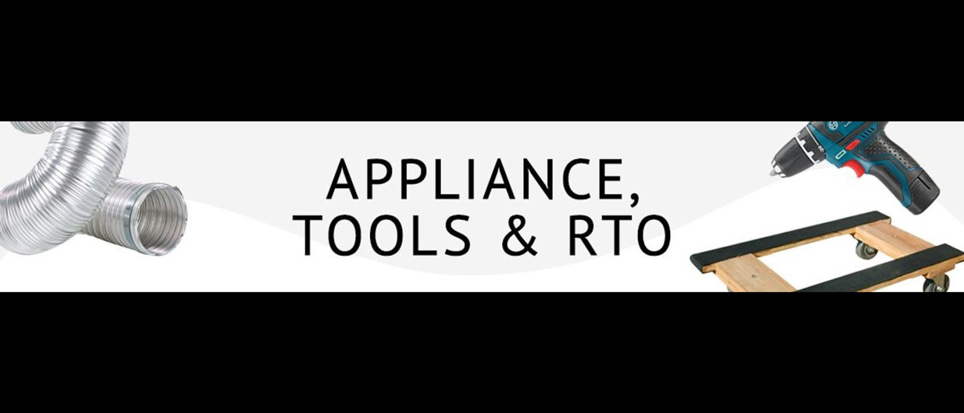 APPLIANCE ACCESSORIES, TOOLS & RTO Find everything needed to replace worn cords or finish installation on new appliances.