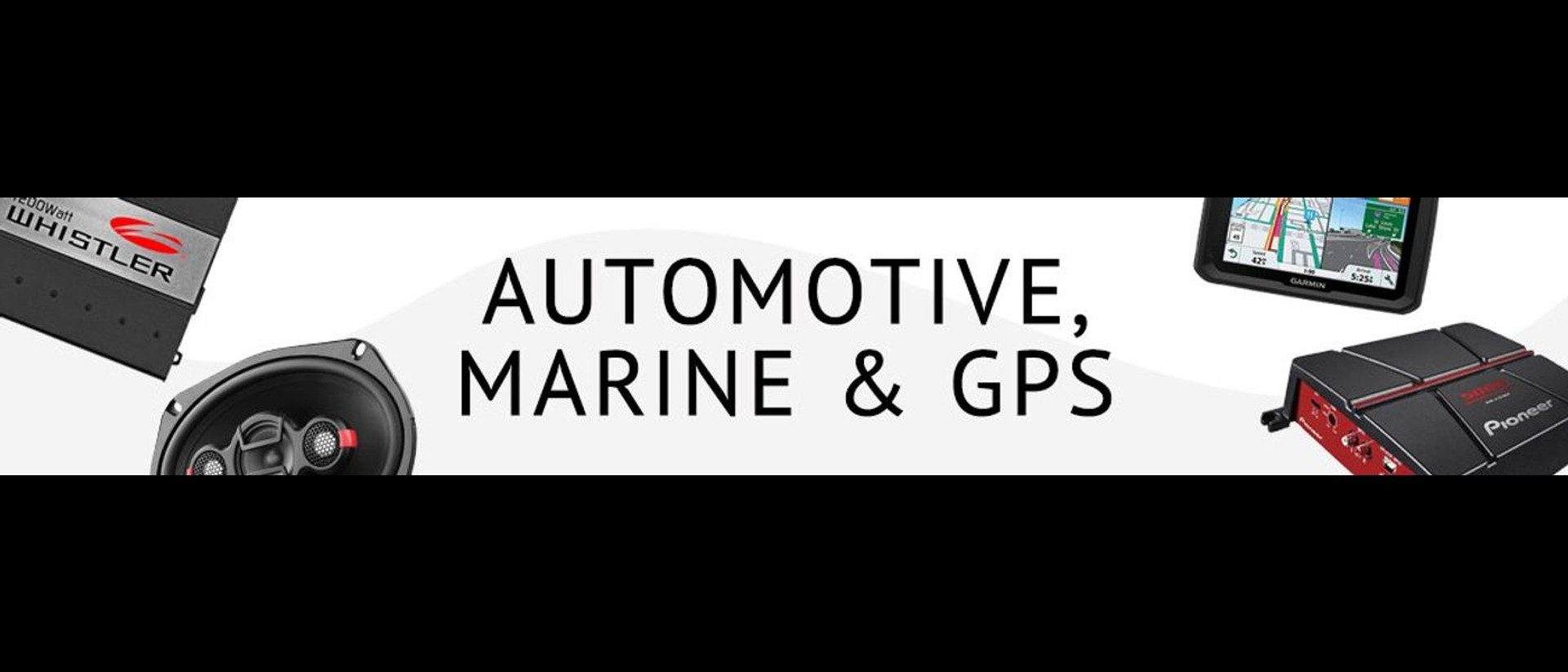 AUTOMOTIVE, MARINE & GPS Offer customers the best in car audio and 12-volt accessories for automotive, marine, and also recreational vehicles.