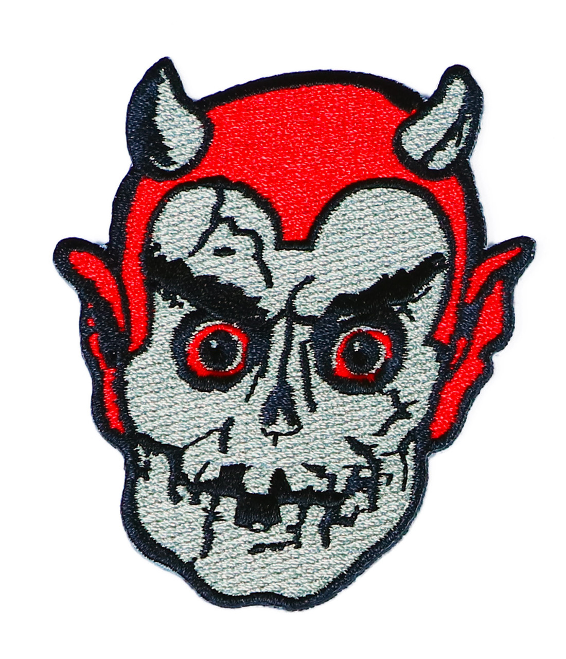 TOPSTONE HORROR Teen Werewolf Retro Horror Halloween Embroidered Patch NEW