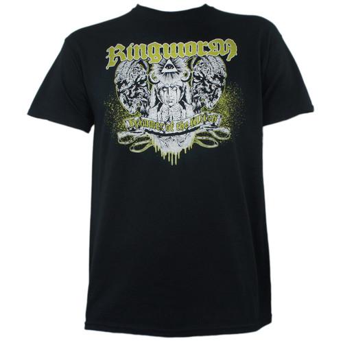 RINGWORM Hammer Crying Priest Logo T-Shirt