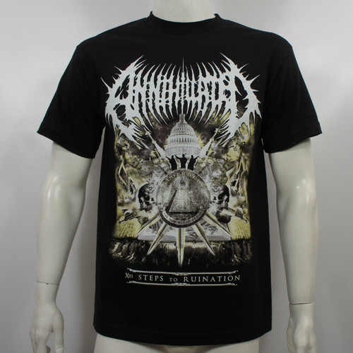 Annihilated T-Shirt - XIII 13 Steps To Ruination
