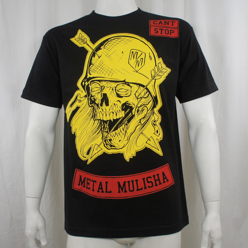 METAL MULISHA Arrow Head Skull Soldier T-Shirt