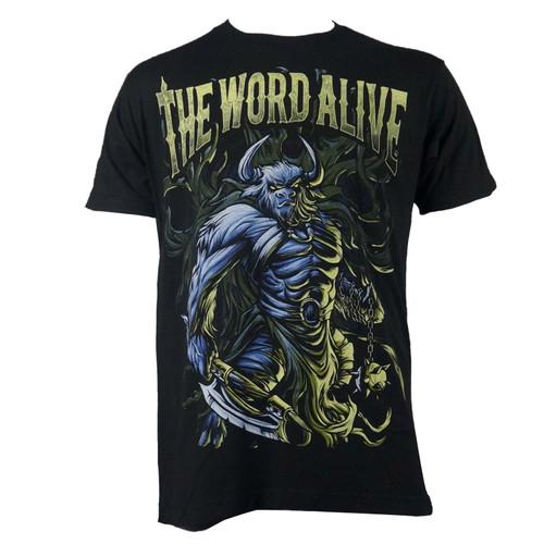 THE WORD ALIVE Minotaur Logo Black T-Shirt