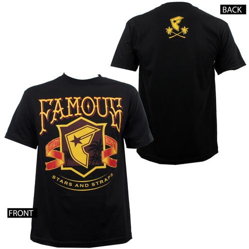 Famous Stars & Straps Coastin' T-Shirt Black
