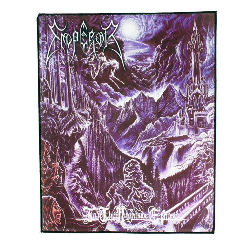 Emperor In The Nightside Eclipse Album Cover Art Back Patch