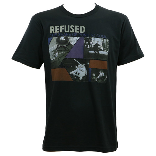 Refused Shape Of Punk To Come Slim Fit T-Shirt