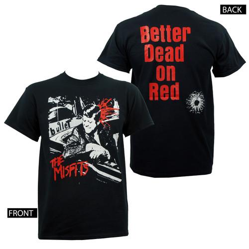 Misfits Bullet Logo T-Shirt Black