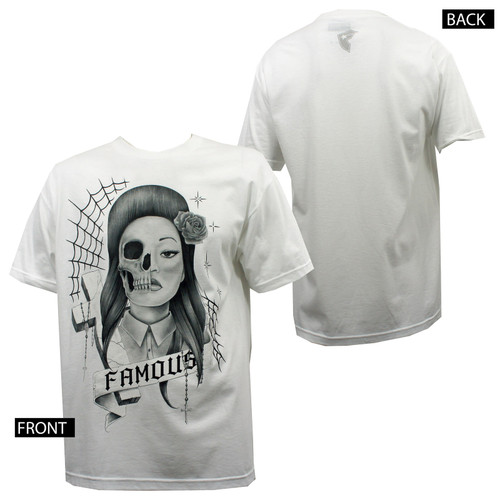 Famous Stars & Straps Sinister T-Shirt White