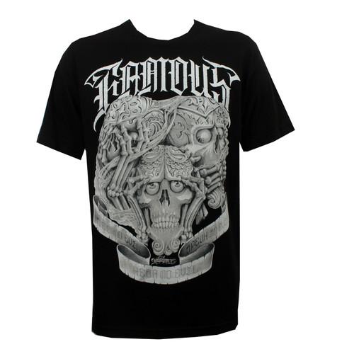 Famous Stars & Straps No Evil T-Shirt Black