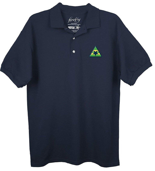 FIREFLY Tv Series Browncoats Symbol Embroidered Polo Shirt