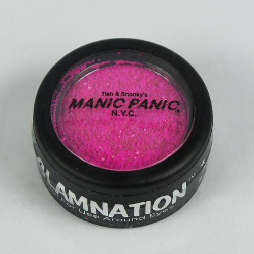 MANIC PANIC Glow Under Black Light Body Glitter ELECTRIC FUSCHIA SHOCK PINK