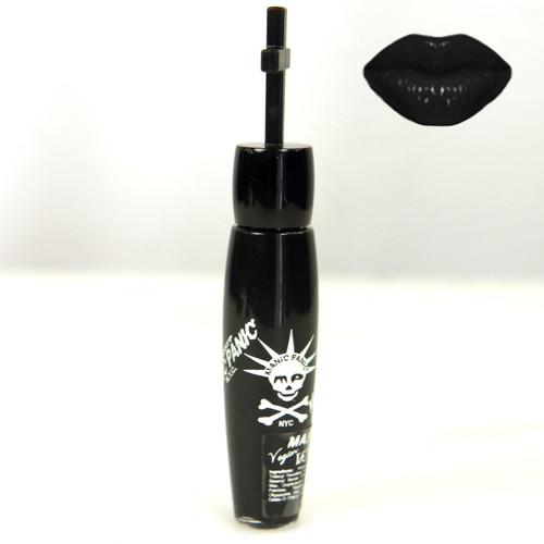 MANIC PANIC RAVEN Black Lethal Lips Bold Color Moisturizing Lip Gloss