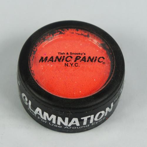 MANIC PANIC Glow Under Black Light Body Glitter ELECTRIC LAVA ORANGE