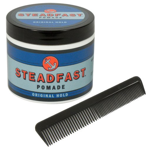 Steadfast 4 Oz Original Hold Pomade and Free Comb