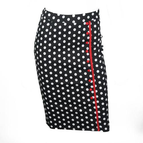 Sourpuss Bombshell Polka Dot Skirt