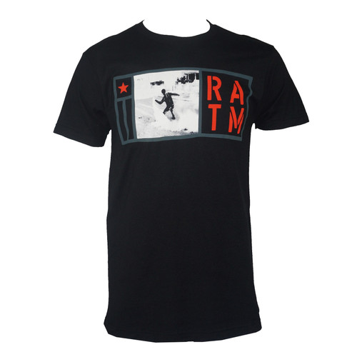 Rage Against The Machine Smoke Grenade Logo T-Shirt