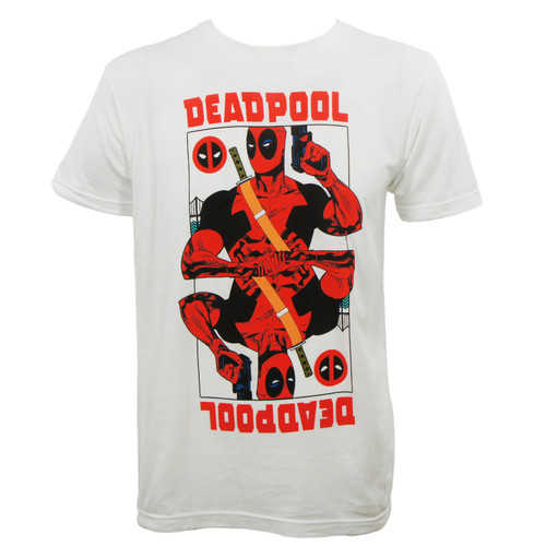 Marvel Comics Deadpool Wild Card T-Shirt