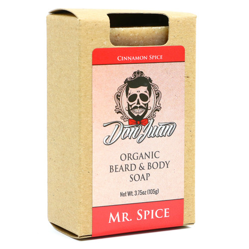 Don Juan Mr. Spice Organic Beard Face Soap 3.75 Oz.