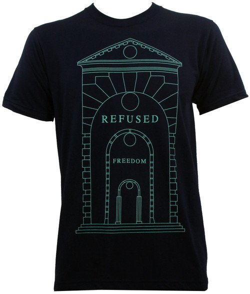 Refused Arch Slim Fit T-Shirt Navy