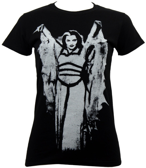 Munsters Go Home Juniors Lily Bat Wing T-Shirt