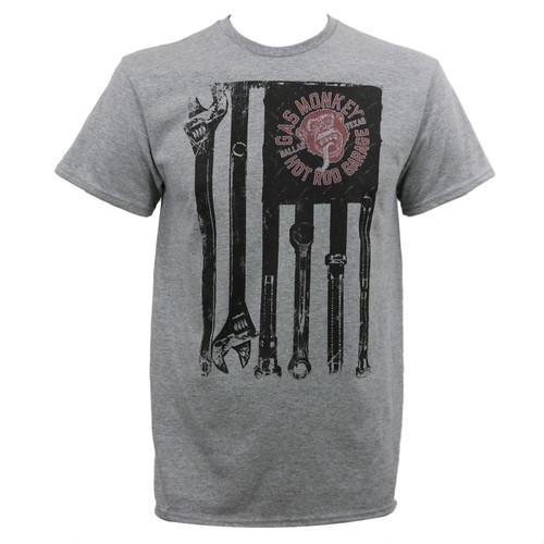 Gas Monkey Garage Tools and Stripes T-Shirt