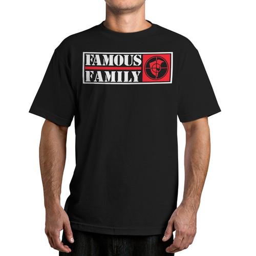 Famous Stars & Straps Public Family Black T-Shirt