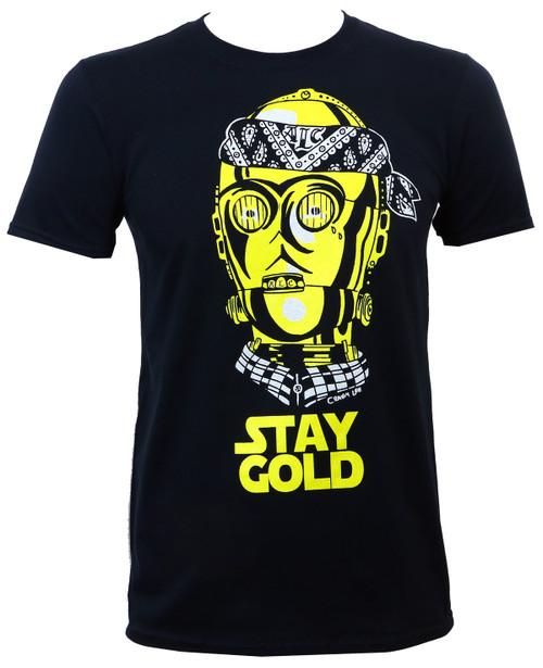 ALC Apparel Stay Gold T-Shirt