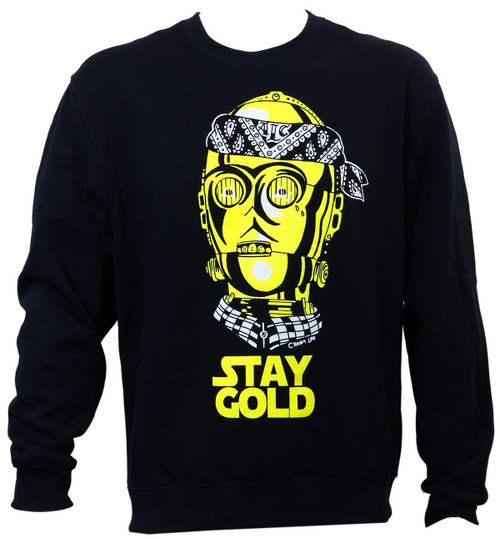 ALC Apparel Stay Gold Crewneck Sweater