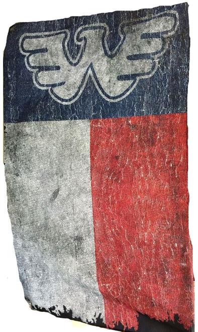 Waylon Jennings Texas Fabric Poster