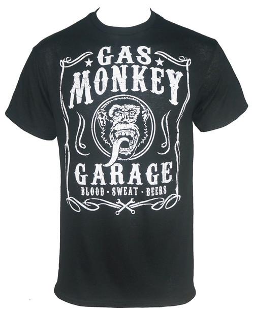 Gas Monkey Garage T-Shirt - Filigree