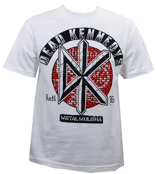 Metal Mulisha Bricks T-Shirt White
