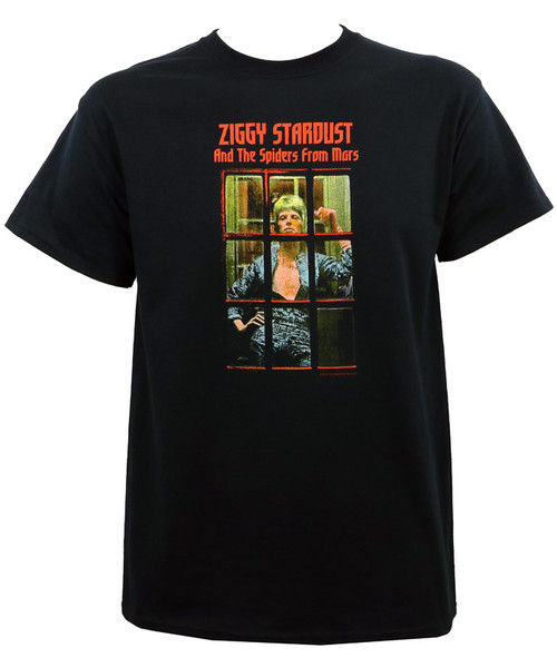 David Bowie Ziggy Phonebooth T-Shirt