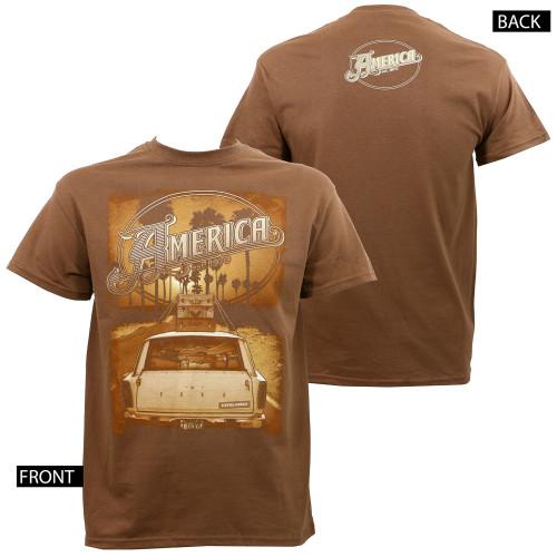America Ventura Highway T-Shirt Brown