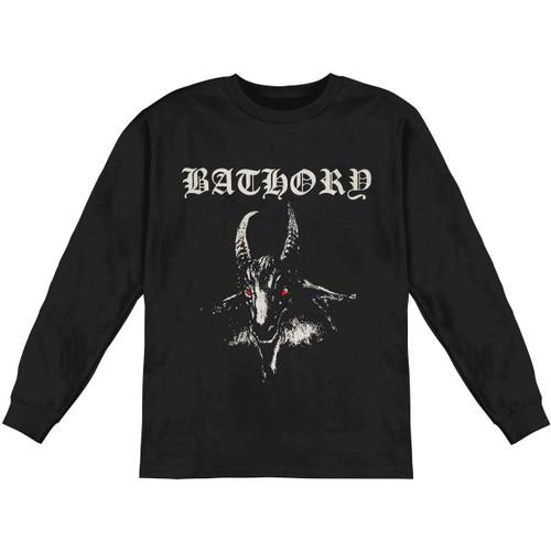 Bathory White Goat Long Sleeve T-Shirt