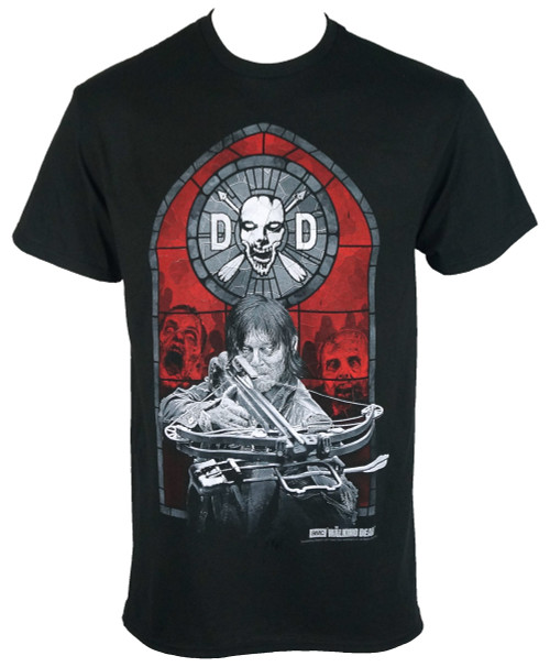 The Walking Dead T-shirt - Dixon Stained Glass