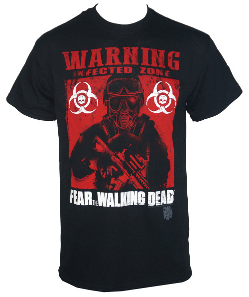 The Walking Dead T-shirt - FTWD Infected Poster