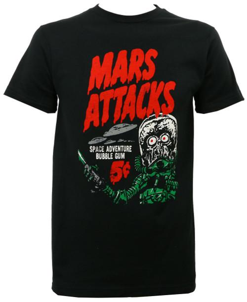 Mars Attacks Space Aventure Bubble Gum T-Shirt