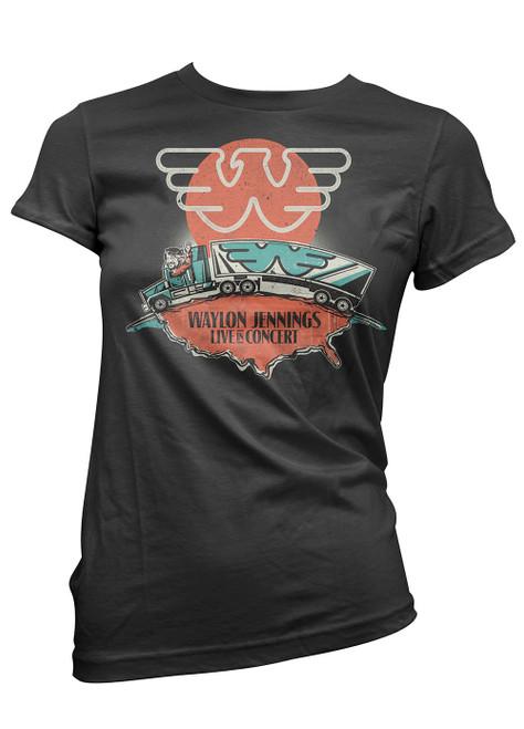 Waylon Jennings Junior's Live in Concert T-Shirt