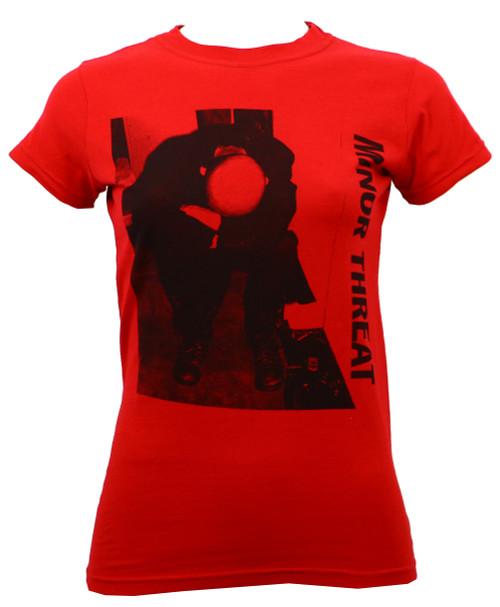 Minor Threat LP Juniors T-Shirt Red