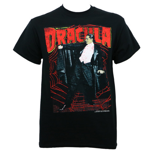 Universal Monster Dracula Web T-Shirt