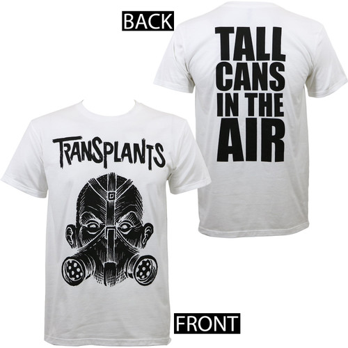 Transplants Tall Cans Slim-Fit T-Shirt White