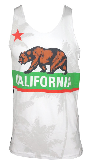 California Flag Tank Top