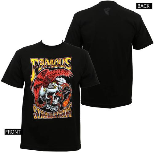 Famous Stars & Straps Lightning Strike T-Shirt Black