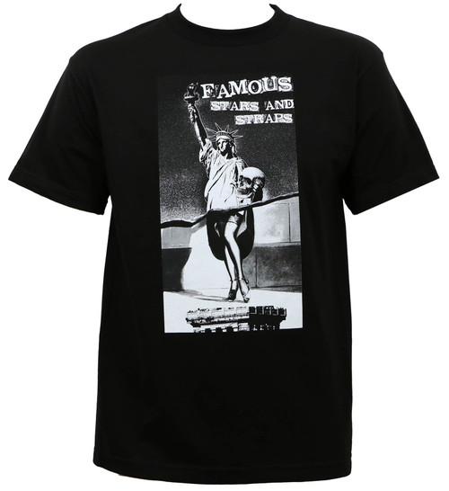 Famous Stars & Straps Stat Lib T-Shirt Black
